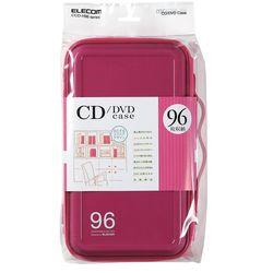 送料無料 カード決済可能 ショップ オブ ザ マンス2021年3月度の都道府県賞を受賞致しました P5E エレコム メーカー在庫品 セミハード 売れ筋 96枚入 CCD-H96PN 《週末限定タイムセール》 ピンク DVDケース ファスナー付 CD