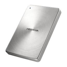 アイ・オー・データ機器 USB 3.0/2.0 ポータブルハードディスク「カクうす」1.0TB シルバー(HDPX-UTA1.0S) 目安在庫=○