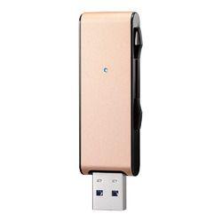アイ・オー・データ機器 USB 3.1 Gen 1(USB 3.0)対応USBメモリー128GB ゴールド U3-MAX2/128G 目安在庫=△