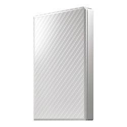 アイ・オー・データ機器 USB3.1 Gen 1対応ポータブルハードディスク セラミックホワイト 2TB(HDPT-UTS2W) 目安在庫=○