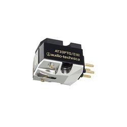 オーディオテクニカ MC型(デュアルムービングコイル)ステレオカートリッジ AT33PTG/II メーカー在庫品