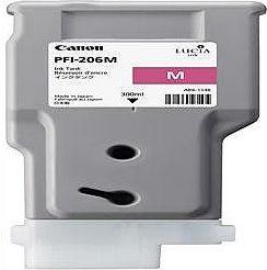 純正品 Canon キャノン PFI-206 M インクタンク マゼンタ (5305B001) 目安在庫=△