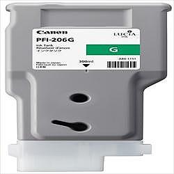 純正品 Canon キャノン PFI-206 G インクタンク グリーン (5310B001) 目安在庫=△