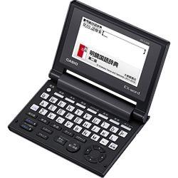 カシオ計算機 EX-word コンパクトボディー JIS配列キー ブラック XD-C100E メーカー在庫品