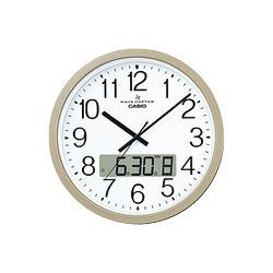 カシオ計算機 壁掛け電波時計(チャイム機能付き) シャンパンゴールド IC-4100J-9JF メーカー在庫品