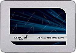 Crucial CT500MX500SSD1/JP 内蔵SSD 2.5インチ MX500 500GB (3D TLC NAND/SA 目安在庫=△