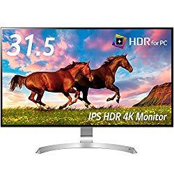 LG Electronics Japan 32型4K対応ワイド液晶ディスプレイ(IPSパネル/HDMI/HDR/USB Type-C)(32UD99-W) 目安在庫=△