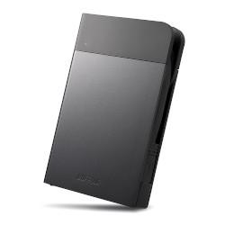 バッファロー HD-PZN1.0U3-B ICカード対応 耐衝撃 ポータブルHDD 1TB ブラック 目安在庫=△