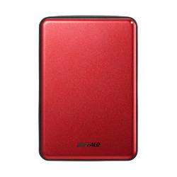 バッファロー HD-PUS1.0U3-RDD USB3.1(Gen.1)対応 ポータブルHDD 1TB 目安在庫=△