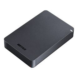 バッファロー HD-PGF4.0U3-GBKA USB3.1(Gen.1)対応 耐衝撃ポータブルHDD 4TB 目安在庫=○