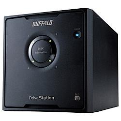 バッファロー HD-QL12TU3/R5J RAID USB3.0用 外付ハードディスク 4ドライブ 12TB 目安在庫=△