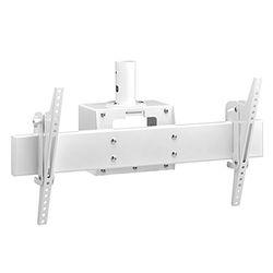 ハヤミ工産 テレビ取付金具(ホワイト)(CH-83W) メーカー在庫品