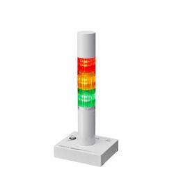 パトライト 信号灯付インターフェースコンバーター、ブザー付、3段赤黄緑(PHE-3FB3-RYG) 目安在庫=△