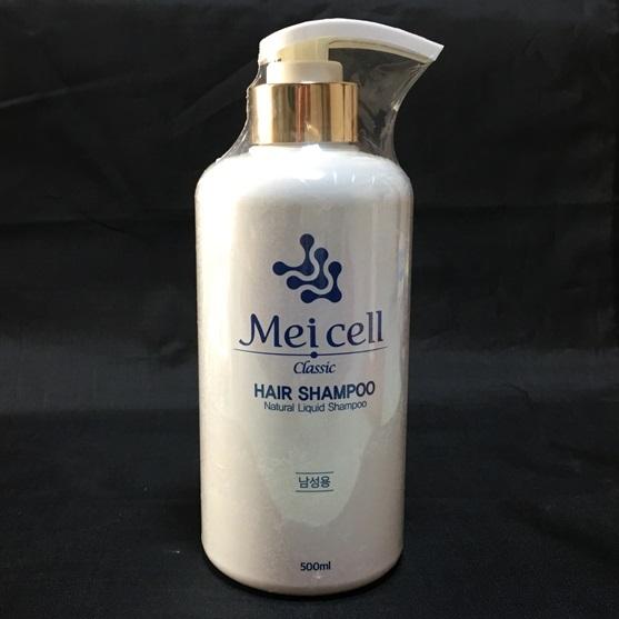MEICELL HAIR SHAMPOO(男性用)韓国製 ヒト幹細胞頭髪再生機能性シャンプー 育毛 抜け毛防止 ふさふさ髪 実現