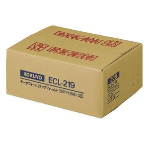【キャッシュレス5%還元】KOKUYO コクヨ 連続伝票用紙〈タックフォーム〉 ECL-219