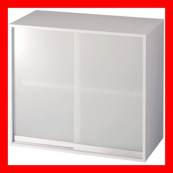 【 ジョインテックス 】 ガラス書庫 上置 LGT-802G