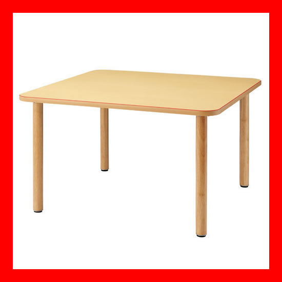【 FRENZ 】 福祉用木製テーブル MT-1212 NA