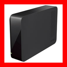BUFFALO USB3.0対応設置型HDD 2TB HD-LL2.0U3-BK