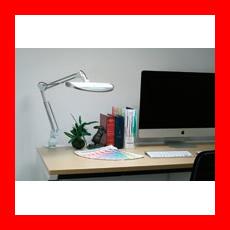 ツインバード工業 調光付LEDダブルアームライト LE-H832W