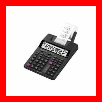 《カシオ計算機》 プリンター電卓HR-170RC-BK