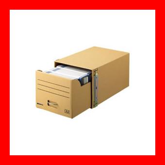 《スマートバリュー》 書類保存キャビネット A4判用10個 D089J-10