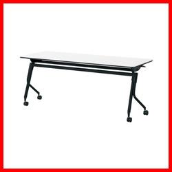 【プラス】 会議テーブル リネロ2 LD-620 WS/BK