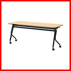 【プラス】 会議テーブル リネロ2 LD-620 WM/BK