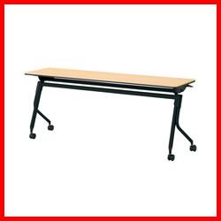 【プラス】 会議テーブル リネロ2 LD-615 WM/BK