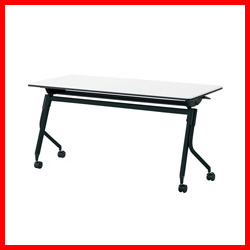 【プラス】 会議テーブル リネロ2 LD-520 WS/BK