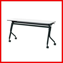 【プラス】 会議テーブル リネロ2 LD-515 WS/BK
