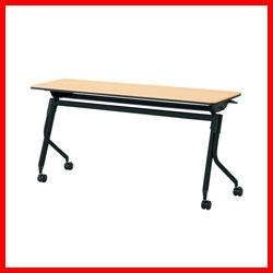 【プラス】 会議テーブル リネロ2 LD-515 WM/BK