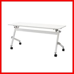【ジョインテックス】 フォールディングテーブル JTN-1560 WH
