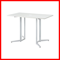 【NK】 ハイテーブル KHH-1590-WH ホワイト