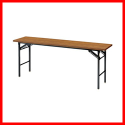 【ジョインテックス】 脚折りたたみテーブル DN-H1T 棚無 H720