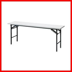 【ジョインテックス】 脚折りたたみテーブル DN-H1W 棚無 H720