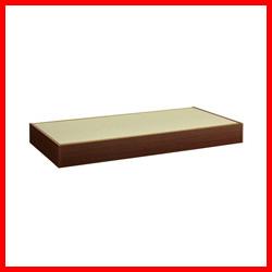 【友澤木工】 畳ベッド TTB062 ブラウン