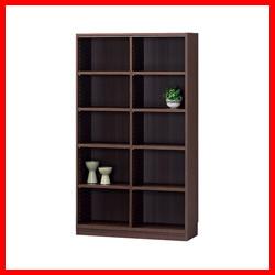 【白井産業】 ☆木製棚タナリオ TNL-1587 ダークブラウン
