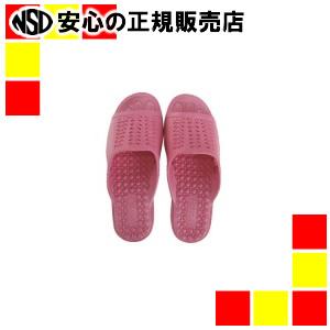 【キャッシュレス5%還元】《 ニッポンスリッパ 》 成型サンダル 婦人用 L ピンク 10足組