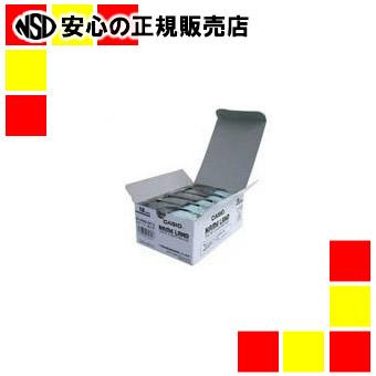 【キャッシュレス5%還元】カシオ計算機 テープ XR-18WE-5P-E 白に黒文字 18mm 5個