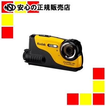 【キャッシュレス5%還元】《コダック》 デジタルカメラ PIXPRO WP1 イエロー