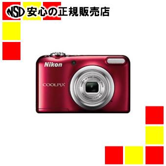 【キャッシュレス5%還元】《ニコン》 デジタルカメラ COOLPIX A10RD レッド