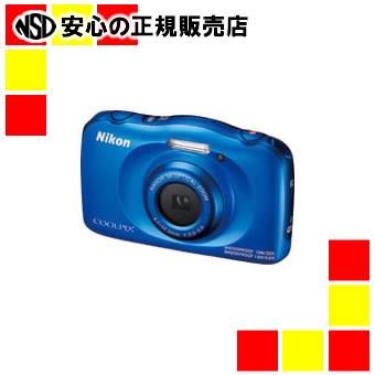 《ニコン》 デジタルカメラ COOLPIX W100BL ブルー
