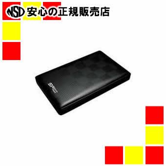 【キャッシュレス5%還元】《シリコンパワー》 ポータブルHDD 1.0TB SP010TBPHDD03S3K