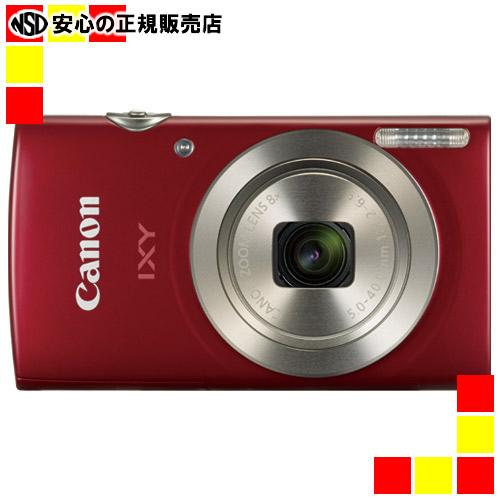 【キャッシュレス5%還元】《キヤノン》 デジタルカメラ IXY200 レッド