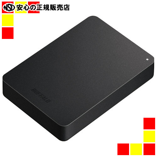《BUFFALO》 耐衝撃ポータブルHDD 500GB HD-PNF500U3-BE