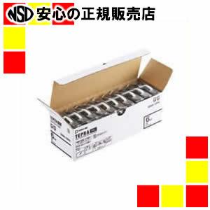 【キャッシュレス5%還元】《キングジム》 PROテープ SS24K-10PN 白に黒文字24mm10個