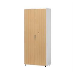 《白井産業》 ☆木製棚扉付OF2-1875RT H1804mmナチュラル