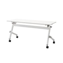 【キャッシュレス5%還元】《ジョインテックス》 フォールディングテーブル JTN-1560 WH
