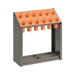 【キャッシュレス5%還元】《テラモト》 傘立 UB-285-112-7 オレンジ