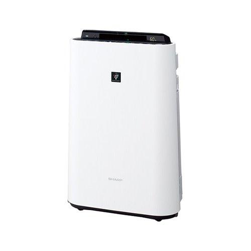 シャープ(SHARP)加湿空気清浄機ホワイト系 [空気清浄~23畳/加湿~13畳][高濃度プラズマクラスター70000][ウイルス][脱臭][静電][スピード吸塵][花粉][ニオイ][加湿][清浄][使い捨てプレフィルター6枚付]